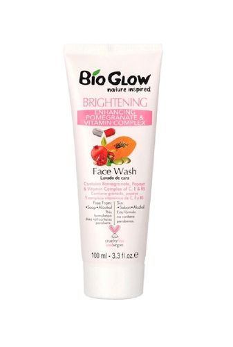 Bio Glow Clear Skin Brightening Face Wash 100ml (vegan)
