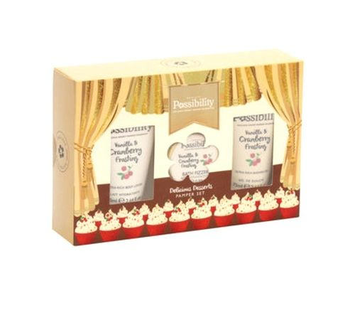 Possibility Vanilla & Cranberry Frosting Gift Set