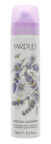 Yardley English Lavender Refreshing Body Spray 75ml